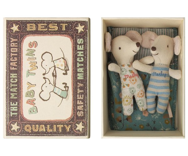 Baby Maus twins in Box (16-9712-01)
