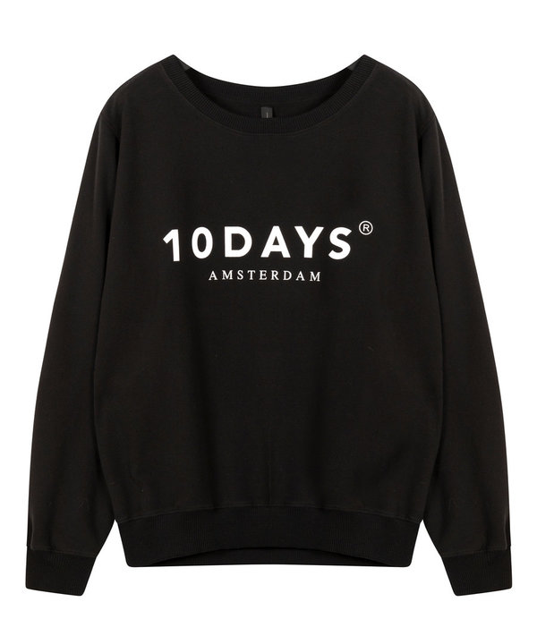 Sweater 10 Days (21-811-9900) black